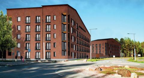 Etera rakennuttaa asuntoja Oulun Linnanmaalle