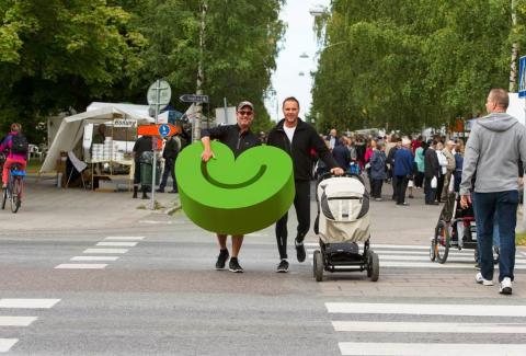 Miljöskjutsen - nytt bidrag för en grönare framtid i Umeå