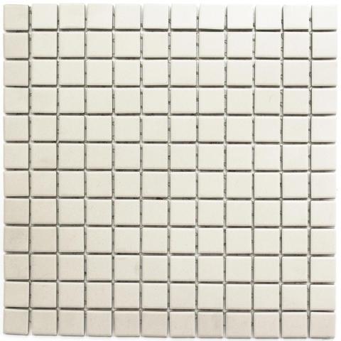 Mosaik Eventyr Lysene Hvid 2,5x2,5, 498 kr. M2.