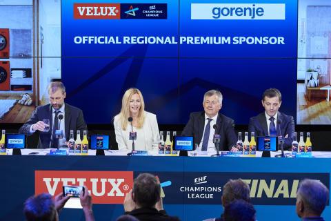 Gorenje bliver vigtig partner for europæisk håndbold