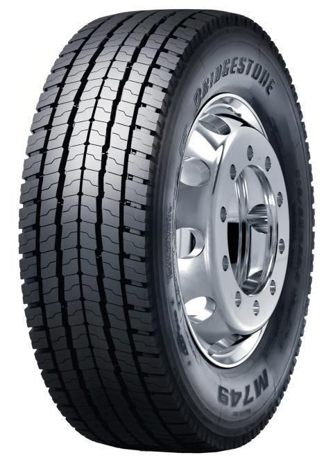 Bridgestone M749 Ecopia nu tillgängligt som regummerat