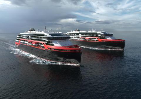 Her vil både skip og passasjerer lade batteriene