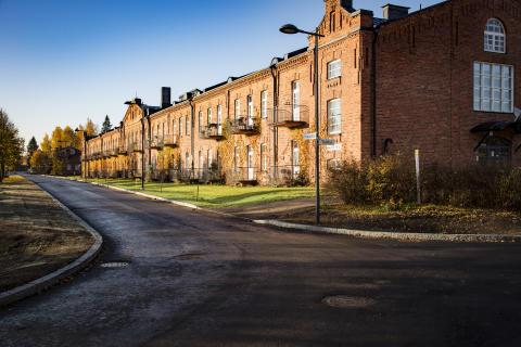 Asuntomessuilla Kouvolassa uusin asuminen yhdistyy vanhaan kasarmialueeseen
