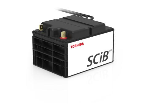 Toshiba to Launch SIP series of SCiB™ Lithium-ion Rechargeable Battery Module for Automated Guided Vehicle