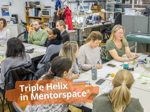 Triple helix actors in Kista mentorspace