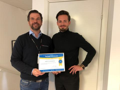 Telehantering i Stockholm, Göteborg & Östersund blir Vanderbilt certifierad guldpartner