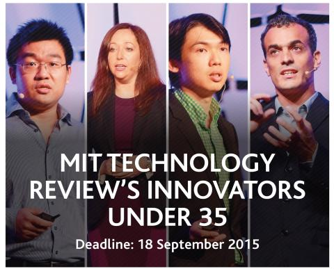 ​2 Regional Listees makes the Global MIT Technology Review magazine Innovators Under 35 List