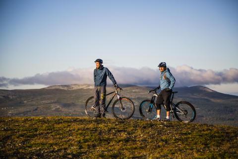 Mångmiljonsatsning i Lofsdalen på leder för cykling, skidåkning och vandring