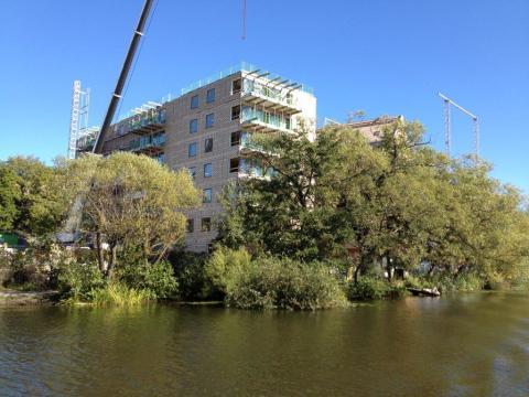 Wåhlin fastigheter bygger sjönära i Sundbyberg