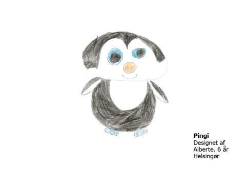 Alberte 6 år Pingi