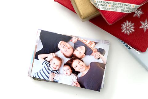Pino valokuvia joululahjaksi