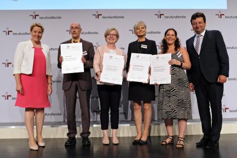 """Erneute Zertifizierung als """"familiengerechte Hochschule"""""""