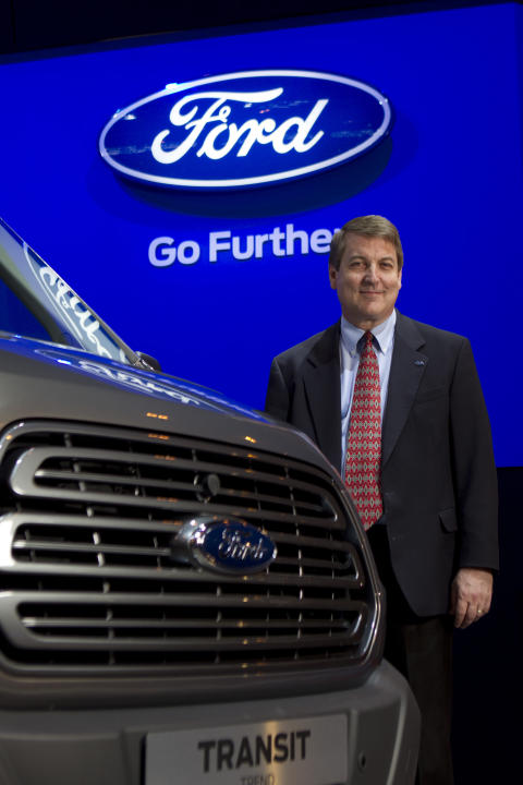 Chris Brew, Chief Programme Engineer Global Transit Programme ved nye Ford Transit