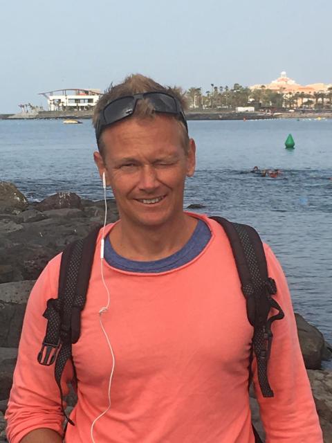 Niklas Alm, författare till Den stora teorin
