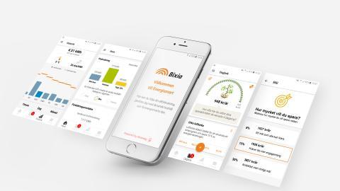 Greenely och Bixia lanserar energismart app