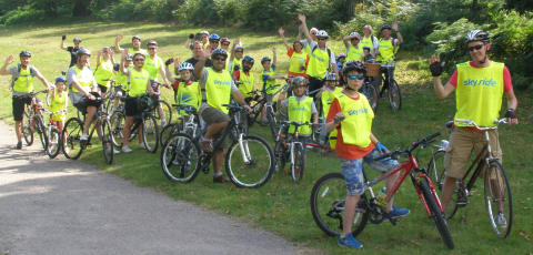 Local Ride Leader supports the 'Hero Ride'