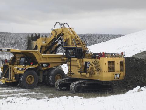 (10) Caterpillar 6060 (570 ton) // (15,9 metre)