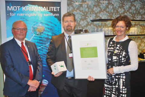 Norsk Tipping tildelt Fidusprisen 2014