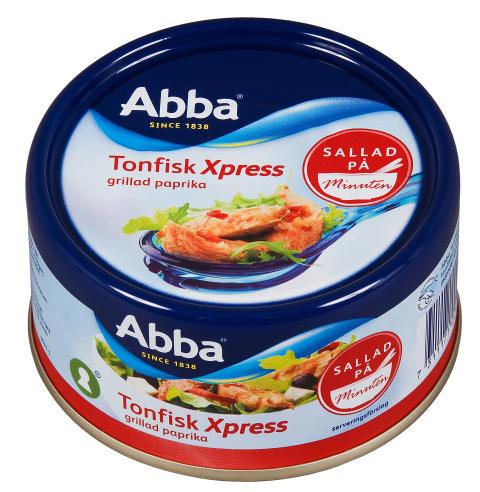 Abba Tonfisk Xpress Grillad paprika