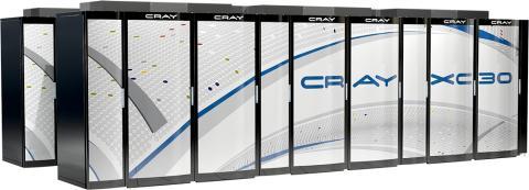 KTH:s nya superdator: Cray XC30.