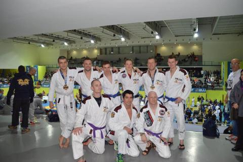 British Army Team success at the 2016 European BJJ Championships