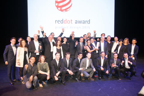 Red Dot Design Award 2015: Prisat designteam hos Bosch hushållsapparater