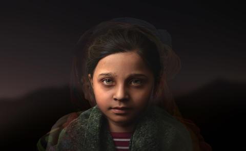 3D-flickan Sofia ger utsatta barn ett ansikte