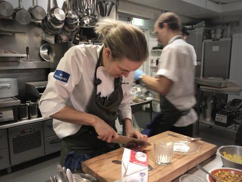 Kocken Linnéa Liljedahl tar fram gourmetmeny – till mjölk_3