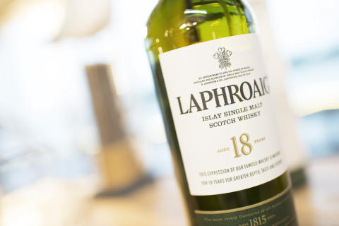 Laphroaig 18 Y.O. på Laphroaig Live 2014