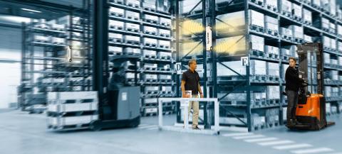 Toyota SpotMe - ett varningssystem för säkrare lager och truckmiljöer