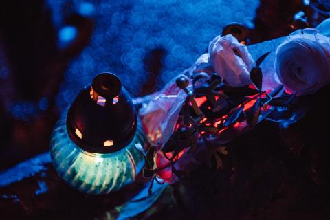 Ljuslyktor tänds för att hedra Förintelsens offer 27 januari (1)