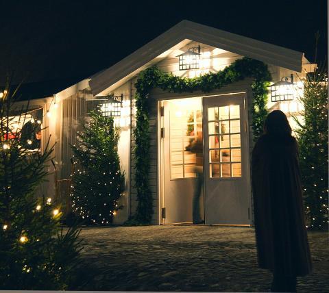 Julmarknad i Sölvesborg