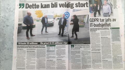 """""""Dette kan bli veldig stort """"sier CEO i Tellu Ole Christian Olssøn"""