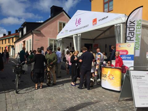 Radix Kompetens var med i Almedalen 2016
