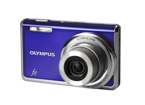 Olympus FE-520, FE-4000, FE-46, FE-26 - Budgetkameror överraskar med stil och bildteknik