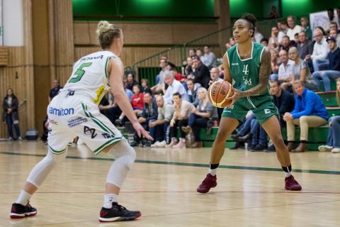Direktsända matcher i Basketligan dam