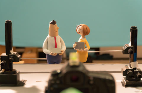 """Shaping"" a Better Society with Clay Animation"