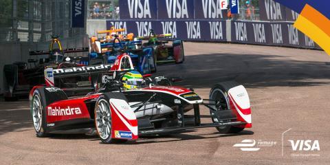 Visa Europe, Formula E Yarışları'nın resmi ödeme hizmetleri sponsoru