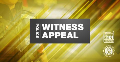 Witness appeal following fail to stop in Havant