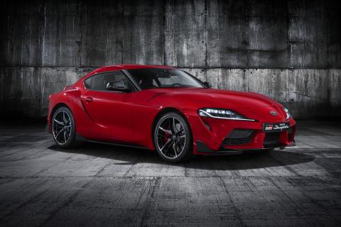 Toyota Supra er klar for reservasjon