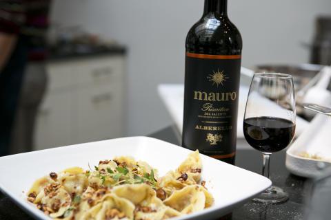 Hemgjord ravioli med Mauro