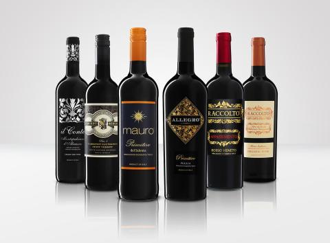 Nordic Sea Winery_Il Conte, Cacadu Ridge, Mauro, Allegro, Raccolto