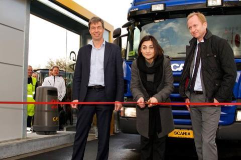 E.ON og OK åbner Københavns første gas-tankstation