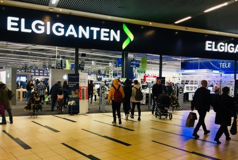 Elgiganten i Fields i København til Black Friday 2017