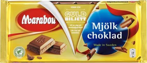Marabou Mjölkchoklad Guldbiljett