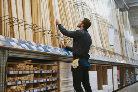 Byggmaterialhandeln – tre av fyra medarbetare  är nöjda