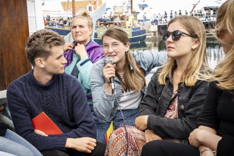 Folkemøde: Medlemsorganisationer fylder Anton med oplysning