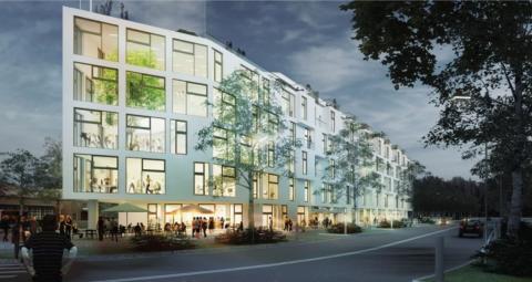 Eneo tecknar avtal med Rosendal Fastigheter om miljövänlig energiförsörjning av Inspiration Rosendal