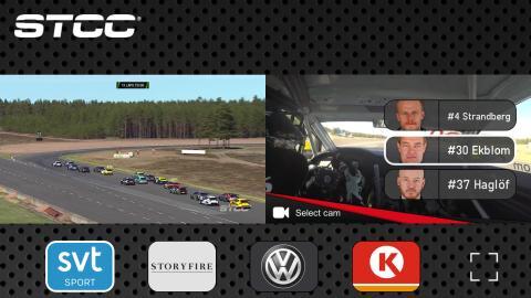 STCC Live App nominerad till internationellt TV-pris