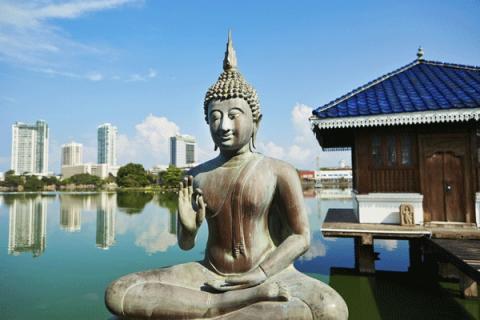 Nyhet til eksotiske Sri Lanka